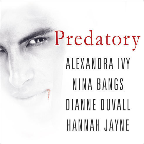 Printable Predatory Audiobook Cover Art