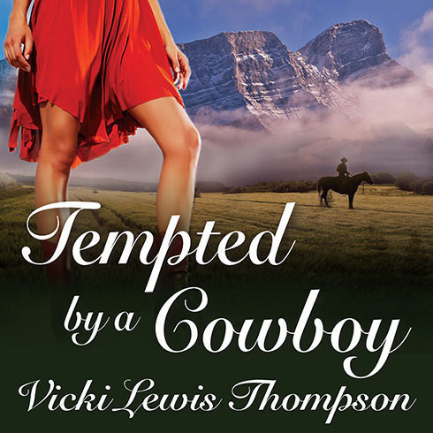 Printable Tempted by a Cowboy: A Perfect Man Novella Audiobook Cover Art