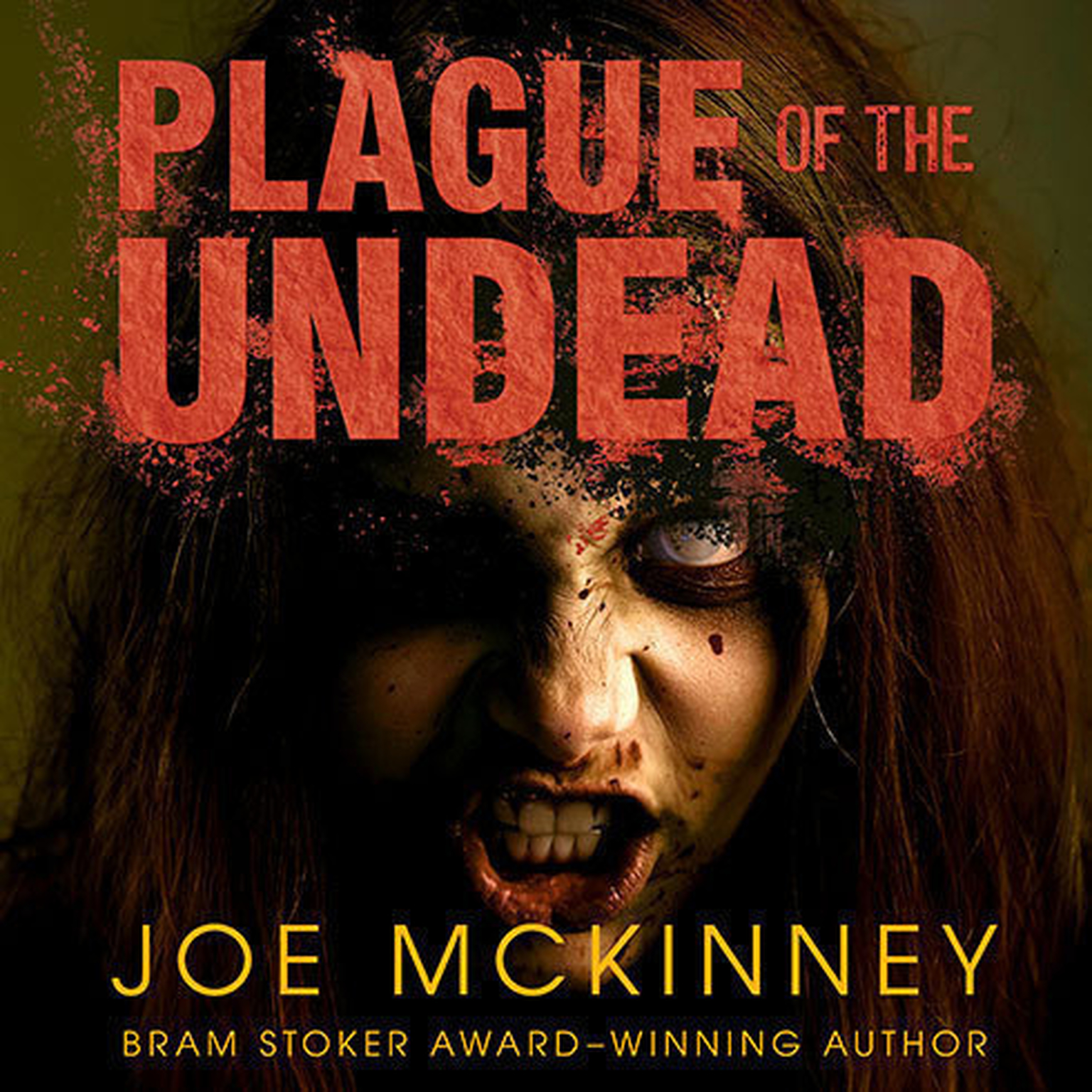 Printable Plague of the Undead Audiobook Cover Art