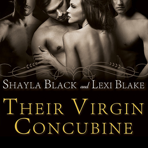 Printable Their Virgin Concubine Audiobook Cover Art