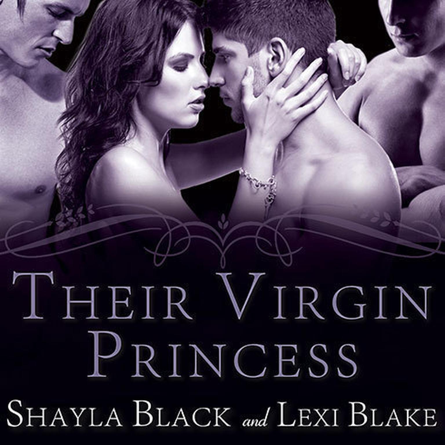 Printable Their Virgin Princess Audiobook Cover Art