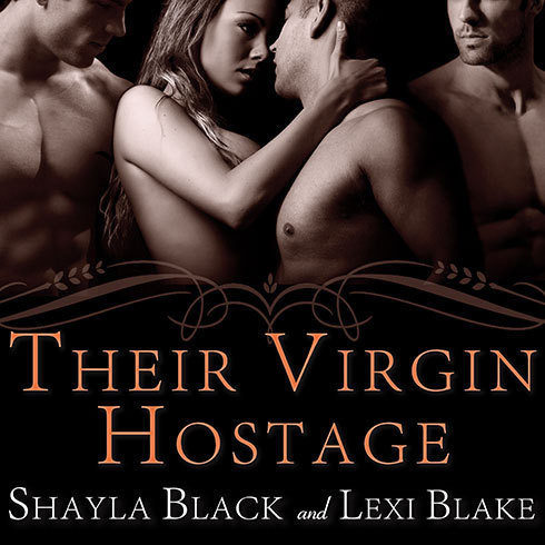 Printable Their Virgin Hostage Audiobook Cover Art