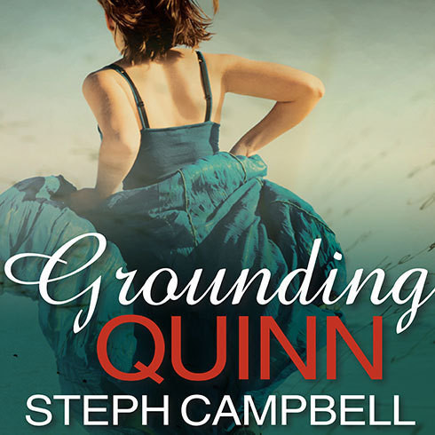 Printable Grounding Quinn Audiobook Cover Art
