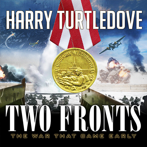 Printable Two Fronts Audiobook Cover Art