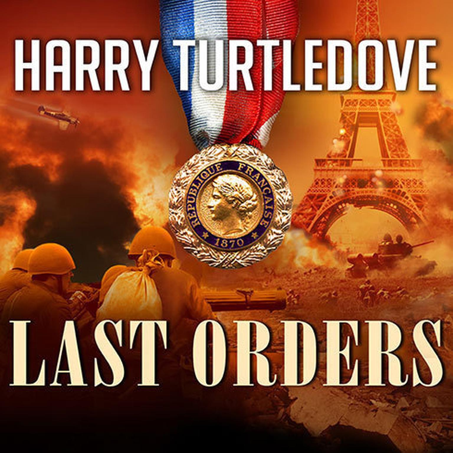Printable Last Orders Audiobook Cover Art