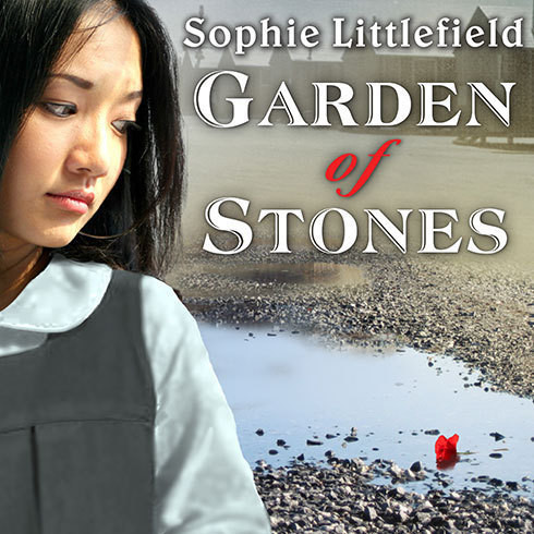 Printable Garden of Stones Audiobook Cover Art