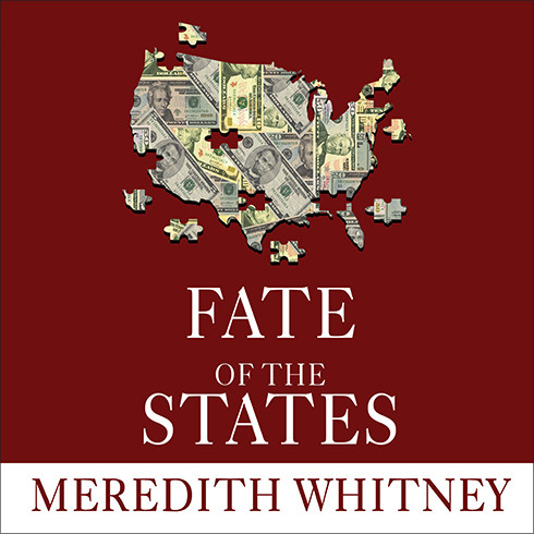 Printable Fate of the States: The New Geography of American Prosperity Audiobook Cover Art