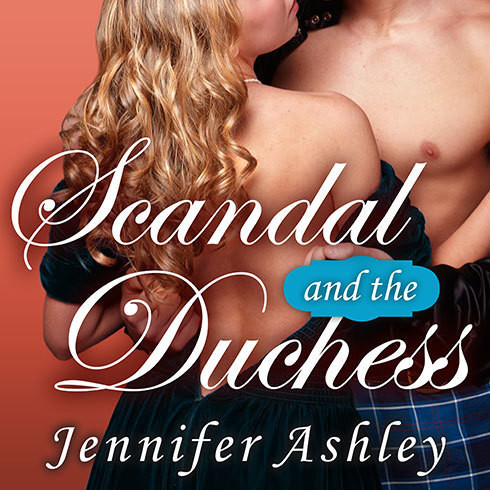 Printable Scandal and the Duchess Audiobook Cover Art