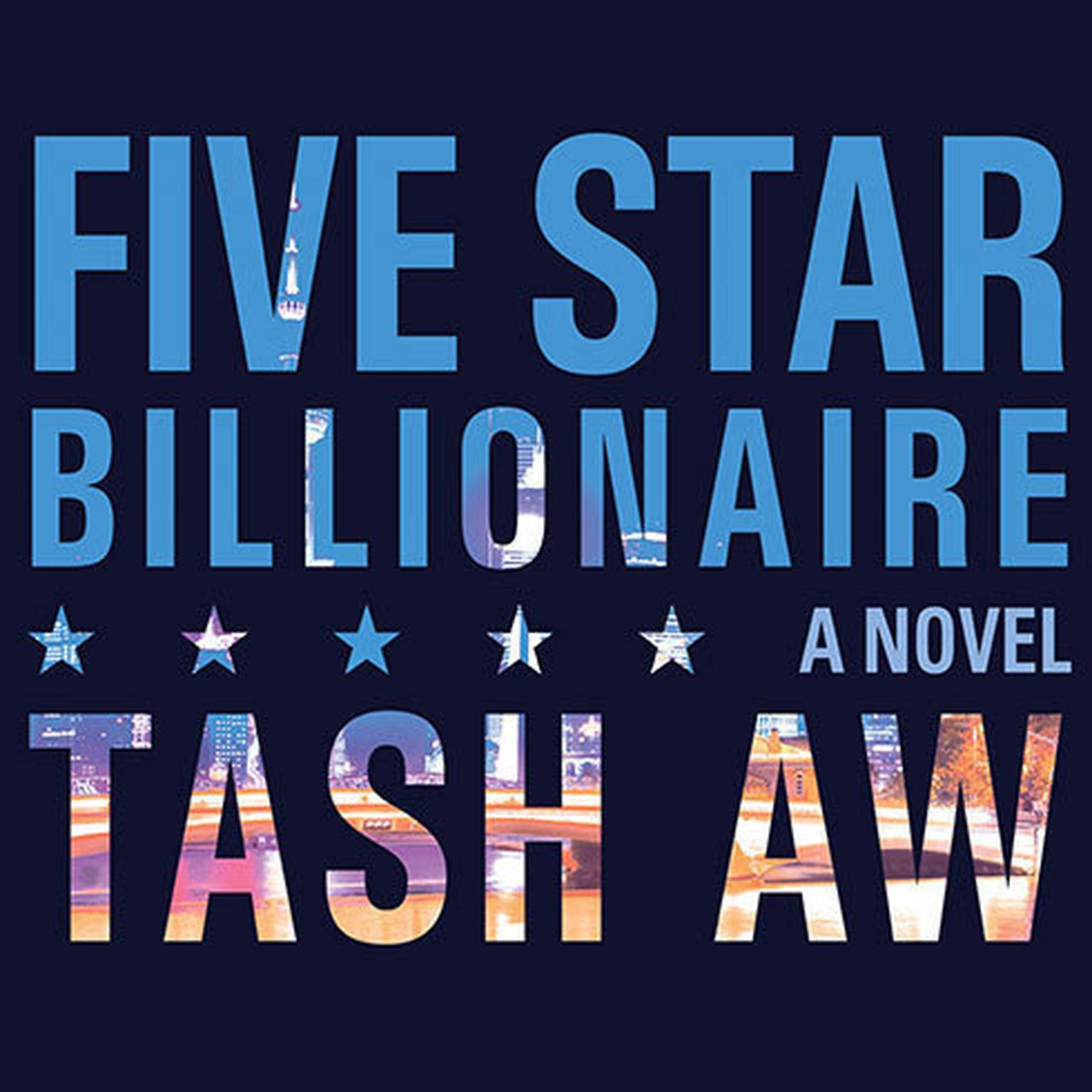Printable Five-Star Billionaire Audiobook Cover Art