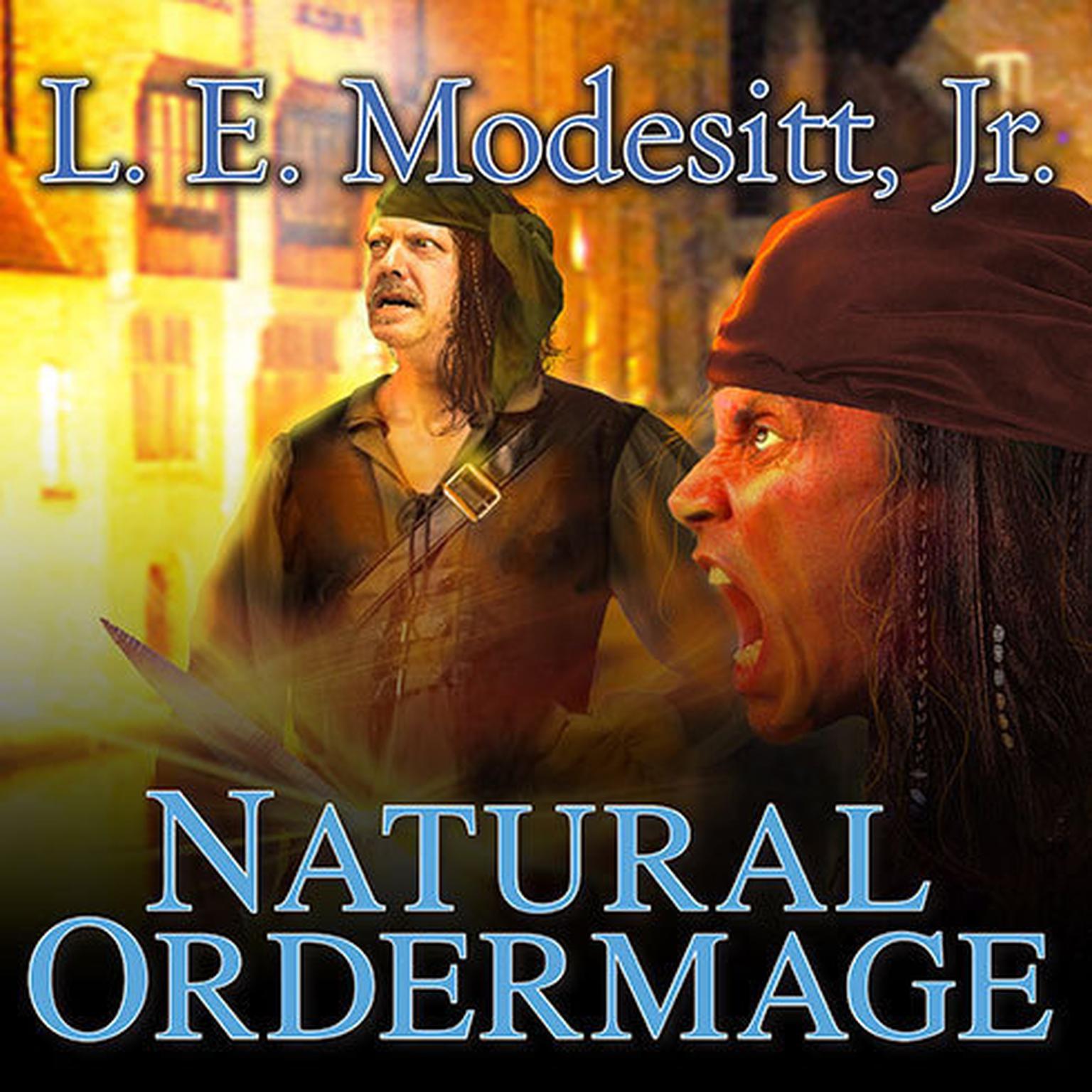 Printable Natural Ordermage Audiobook Cover Art