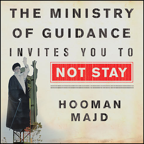 Printable The Ministry of Guidance Invites You to Not Stay: An American Family in Iran Audiobook Cover Art