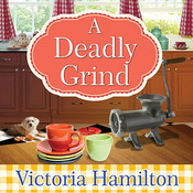 A Deadly Grind, by Donna Lea Simpson, Emily Woo Zeller