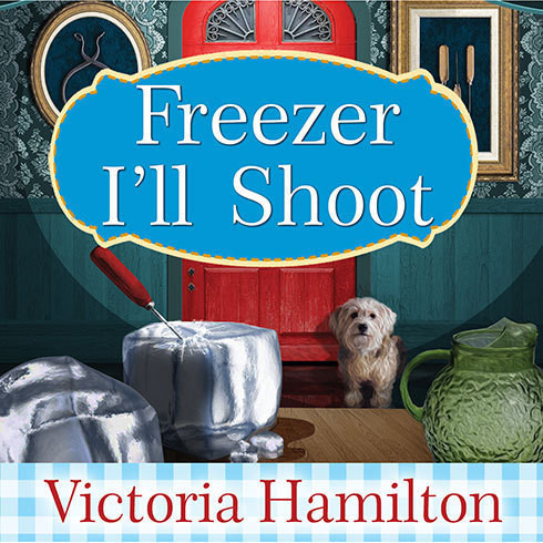 Printable Freezer I'll Shoot Audiobook Cover Art