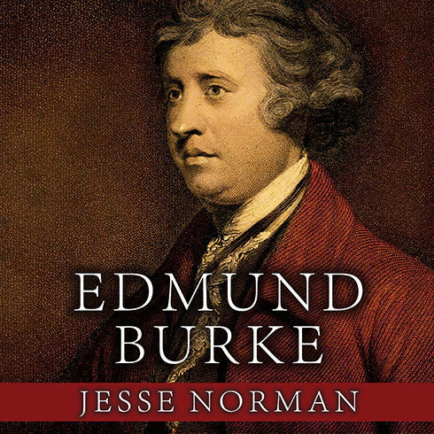 Printable Edmund Burke: The First Conservative Audiobook Cover Art