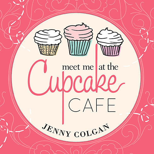 Printable Meet Me at the Cupcake Café: A Novel with Recipes Audiobook Cover Art