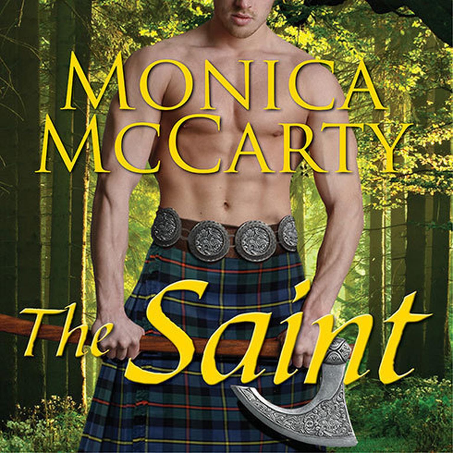 Printable The Saint: A Highland Guard Novel Audiobook Cover Art