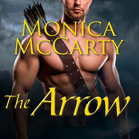 Printable The Arrow: A Highland Guard Novel Audiobook Cover Art