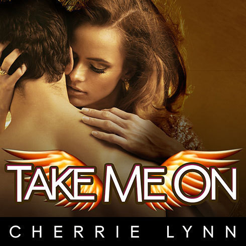 Printable Take Me On Audiobook Cover Art