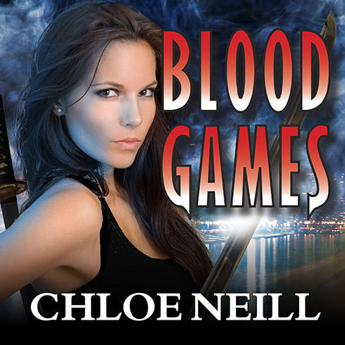 Printable Blood Games: A Chicagoland Vampires Novel Audiobook Cover Art