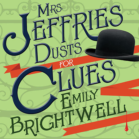 Printable Mrs. Jeffries Dusts for Clues Audiobook Cover Art