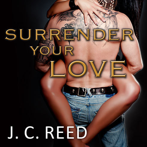 Printable Surrender Your Love Audiobook Cover Art