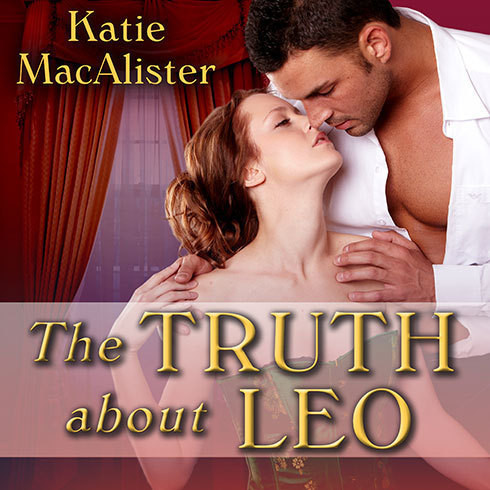 Printable The Truth about Leo Audiobook Cover Art