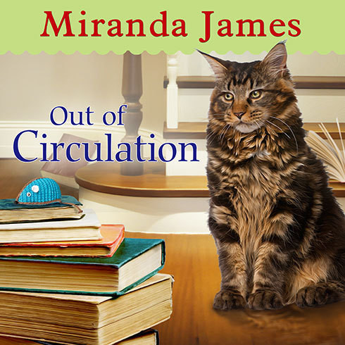 Printable Out of Circulation Audiobook Cover Art