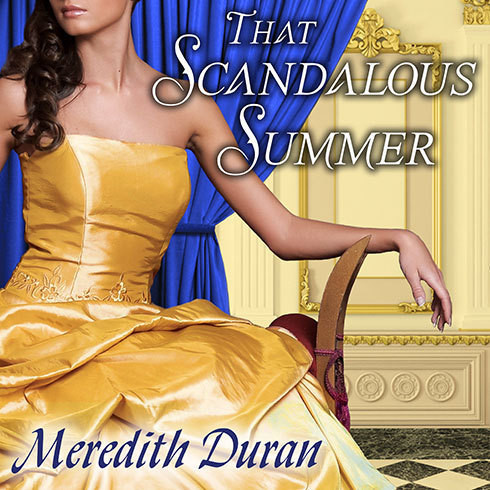 Printable That Scandalous Summer Audiobook Cover Art