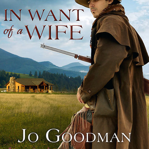 Printable In Want of a Wife Audiobook Cover Art