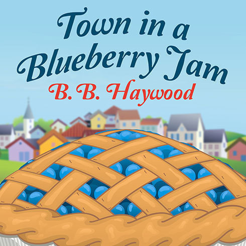 Printable Town in a Blueberry Jam Audiobook Cover Art