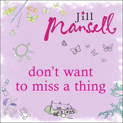 Printable Don't Want to Miss a Thing Audiobook Cover Art