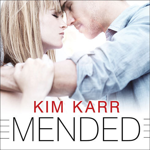 Printable Mended Audiobook Cover Art