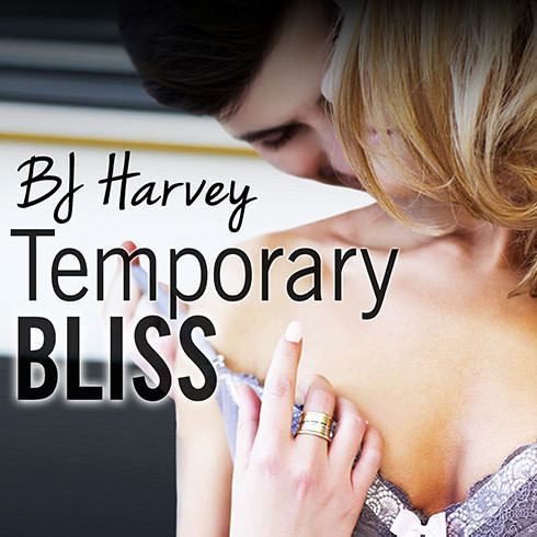 Printable Temporary Bliss Audiobook Cover Art
