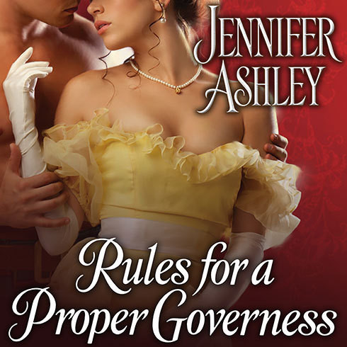 Printable Rules for a Proper Governess Audiobook Cover Art