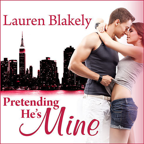 Printable Pretending He's Mine Audiobook Cover Art