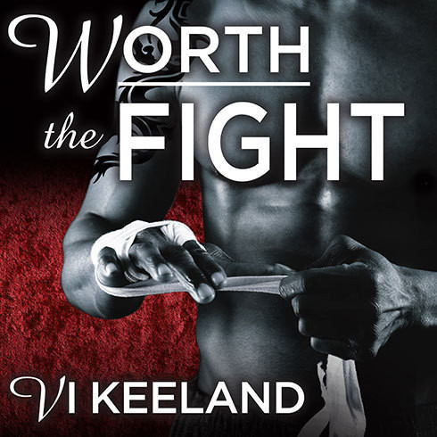 Printable Worth the Fight Audiobook Cover Art