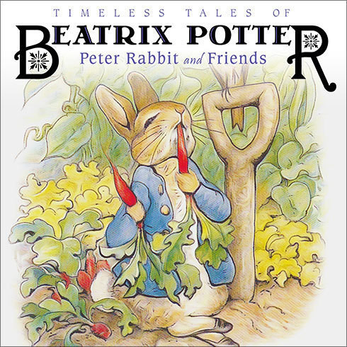 Printable Timeless Tales of Beatrix Potter: Peter Rabbit and Friends Audiobook Cover Art