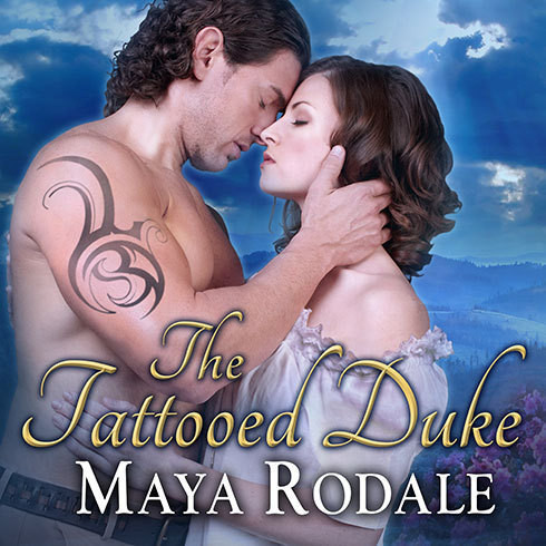 Printable The Tattooed Duke Audiobook Cover Art