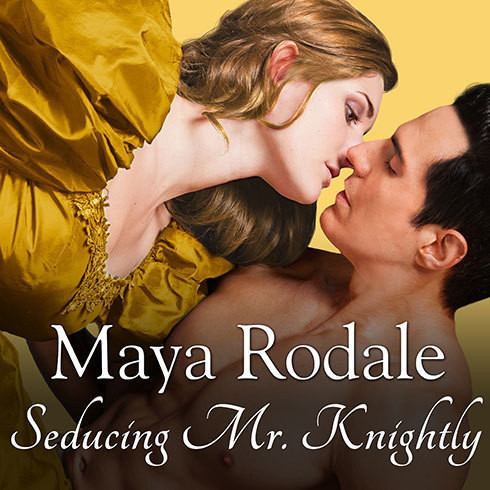 Printable Seducing Mr. Knightly Audiobook Cover Art