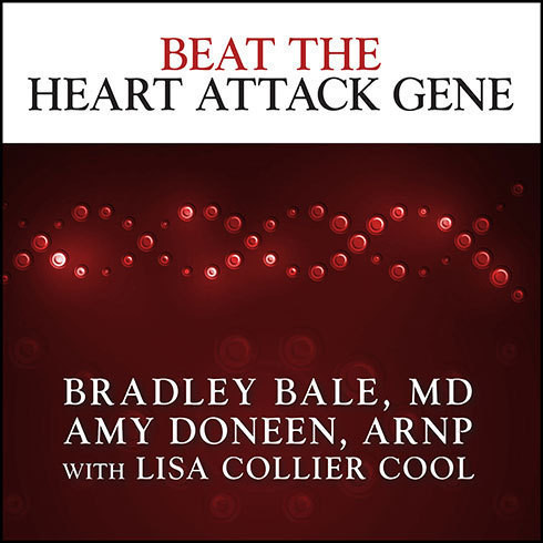 Printable Beat the Heart Attack Gene: The Revolutionary Plan to Prevent Heart Disease, Stroke, and Diabetes Audiobook Cover Art