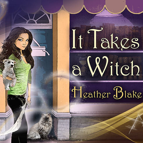 Printable It Takes a Witch: A Wishcraft Mystery Audiobook Cover Art