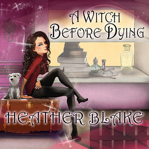 Printable A Witch Before Dying: A Wishcraft Mystery Audiobook Cover Art