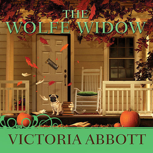 Printable The Wolfe Widow Audiobook Cover Art