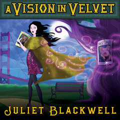 A Vision in Velvet: A Witchcraft Mystery Audiobook, by Juliet Blackwell