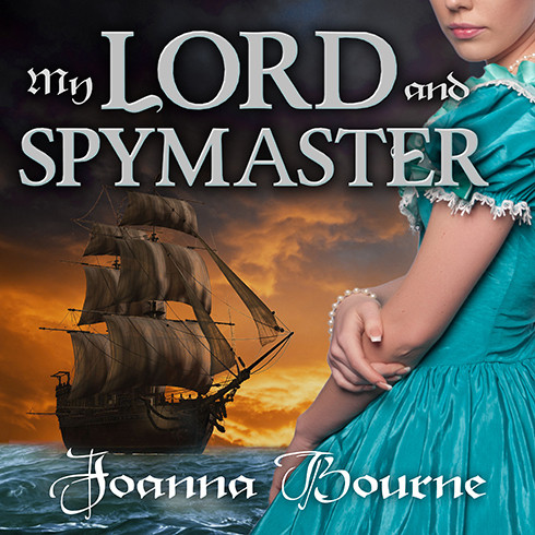 Printable My Lord and Spymaster Audiobook Cover Art