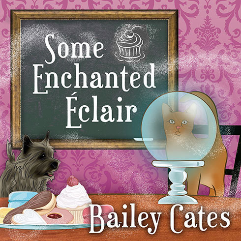 Printable Some Enchanted Éclair: A Magical Bakery Mystery Audiobook Cover Art