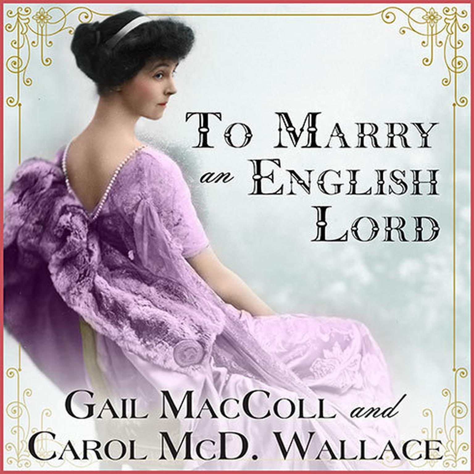 Printable To Marry an English Lord Audiobook Cover Art
