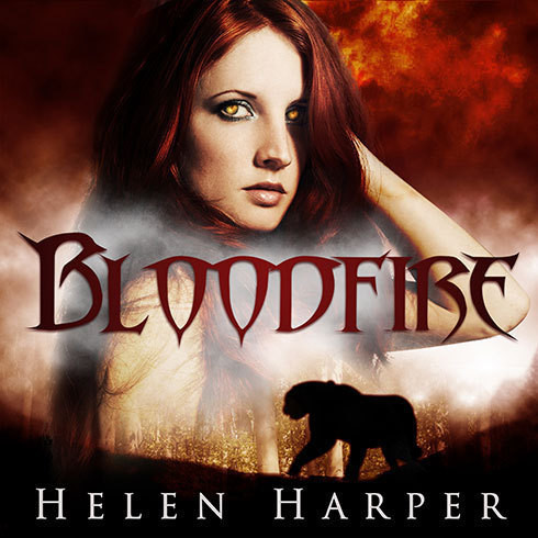 Printable Bloodfire Audiobook Cover Art