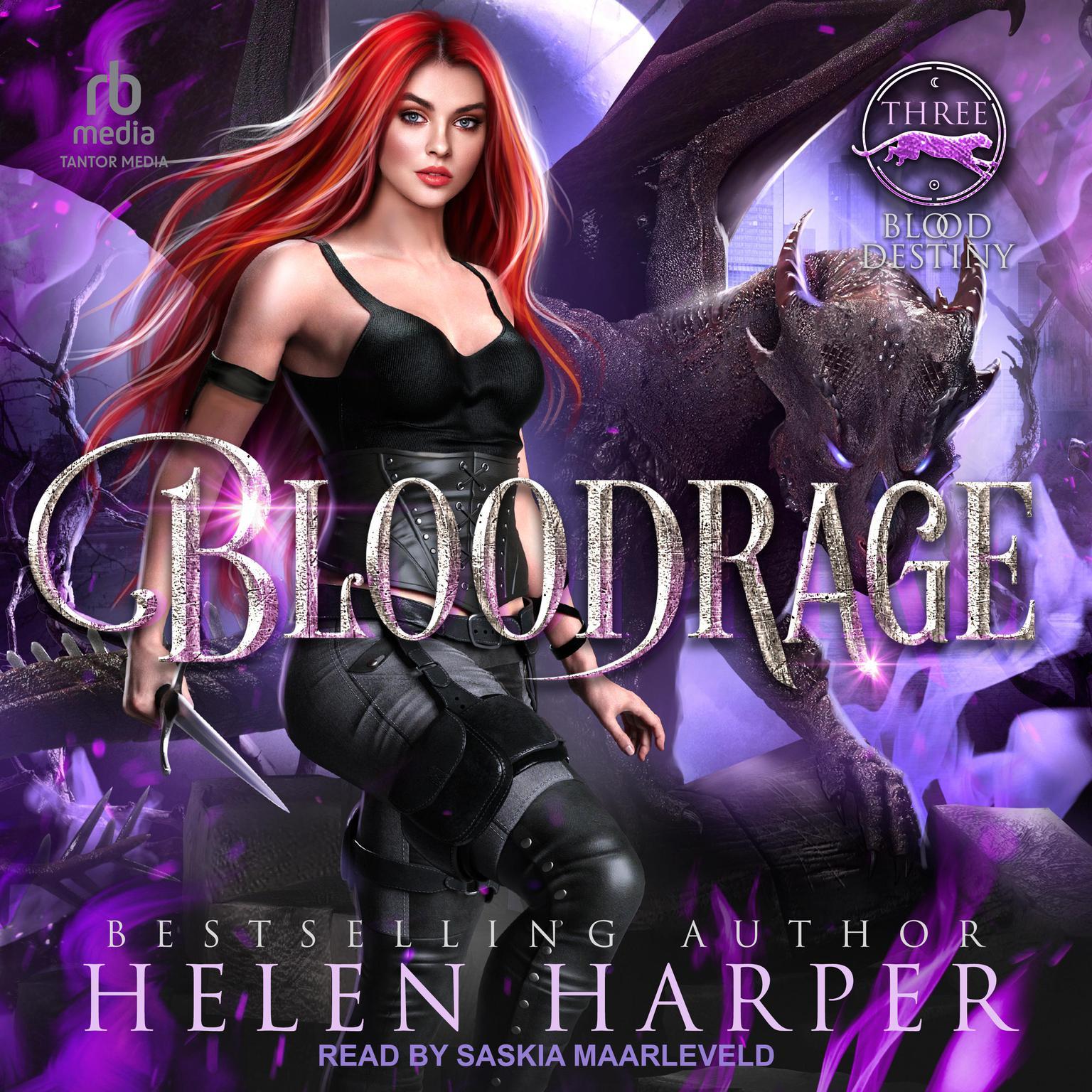 Printable Bloodrage Audiobook Cover Art