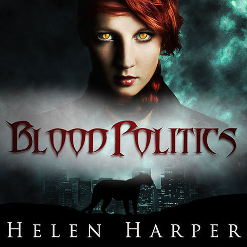 Printable Blood Politics Audiobook Cover Art